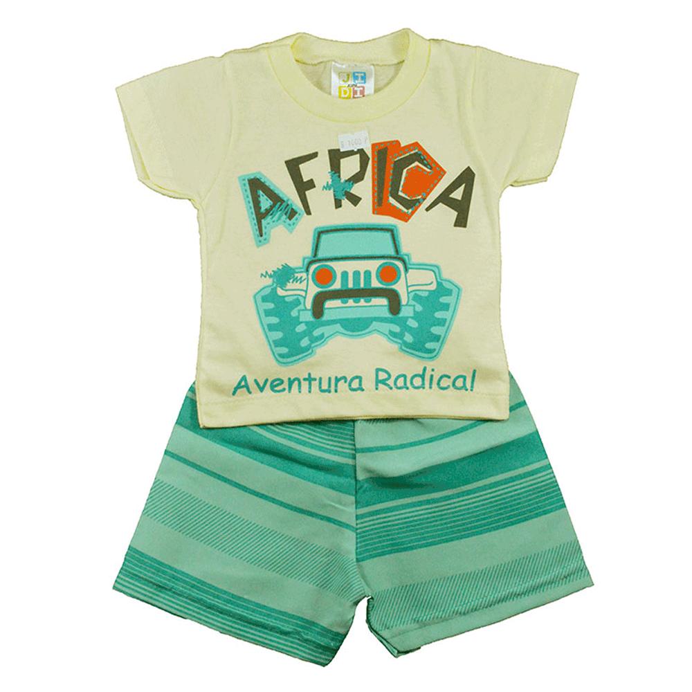 Conjunto Infantil de Verão Africa Jidi