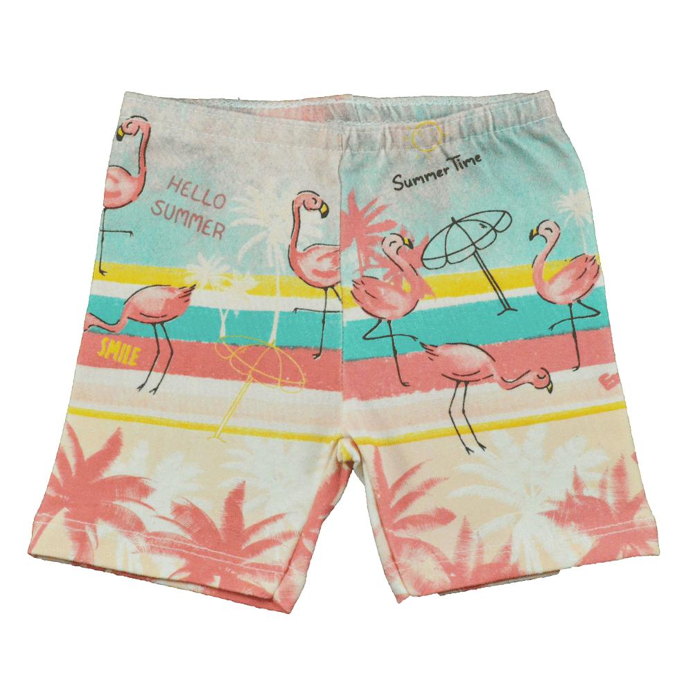 Conjunto Infantil de Verão KK Flamingo