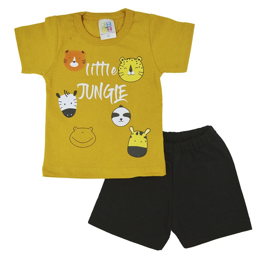 Conjunto Infantil de Verão Little Jungle (P/M/G)