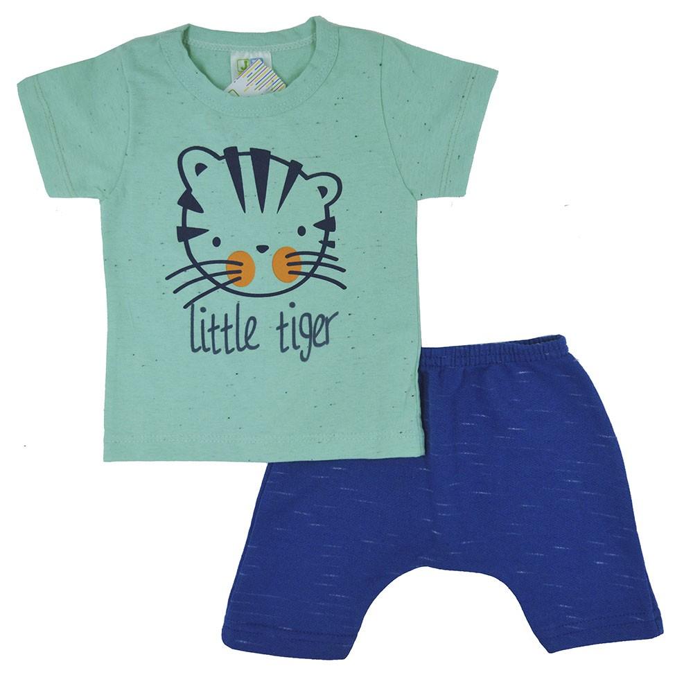Conjunto Infantil de Verão Little Tiger (P/M/G)