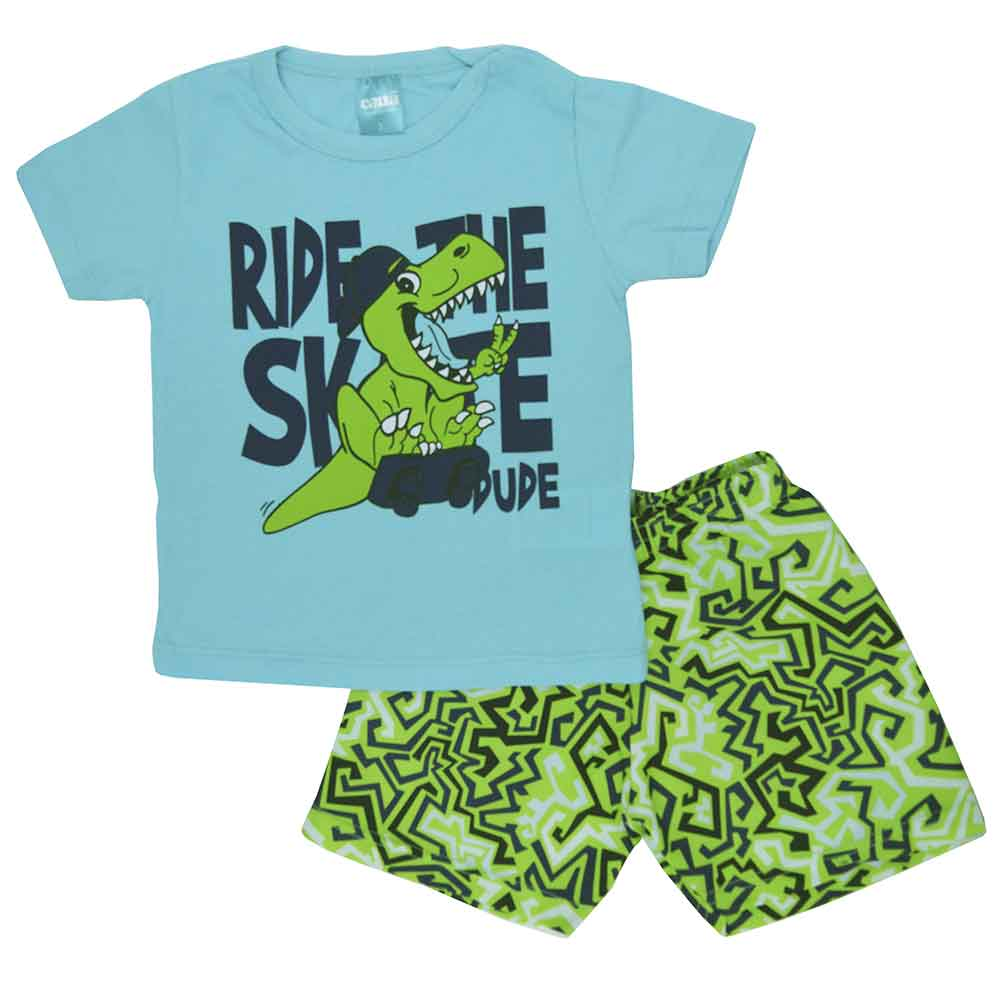 Conjunto Infantil de Verão Ride Rex