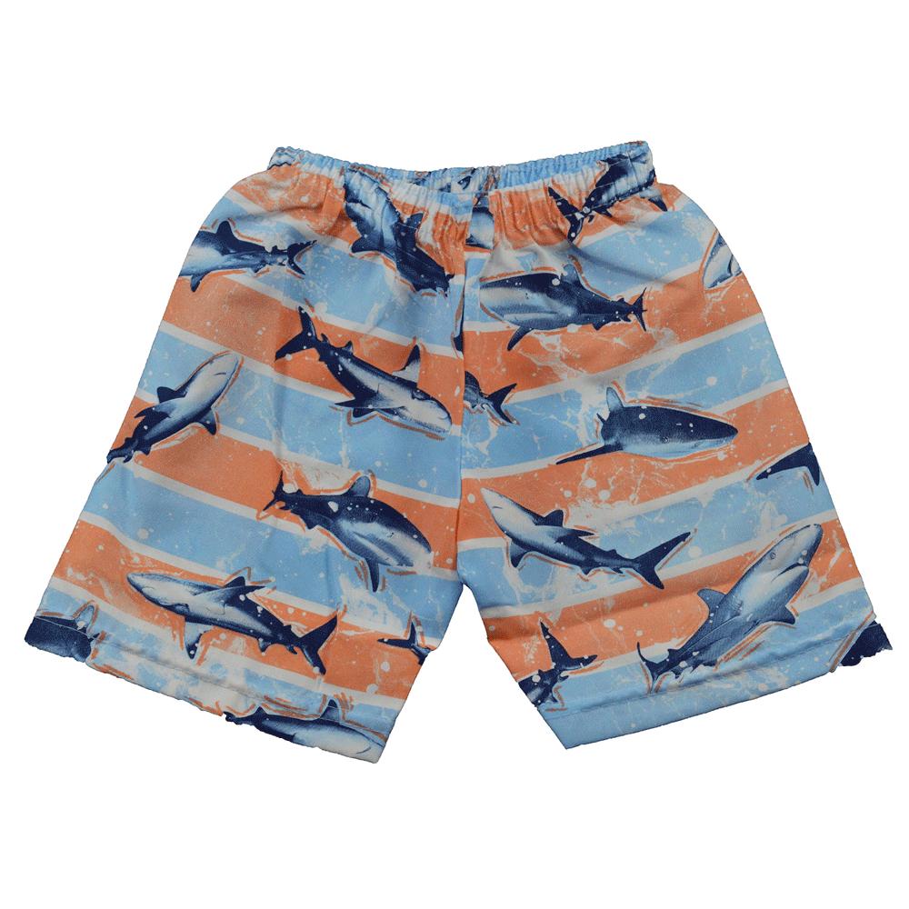 Conjunto Infantil de Verão WRK Tubarão Azul