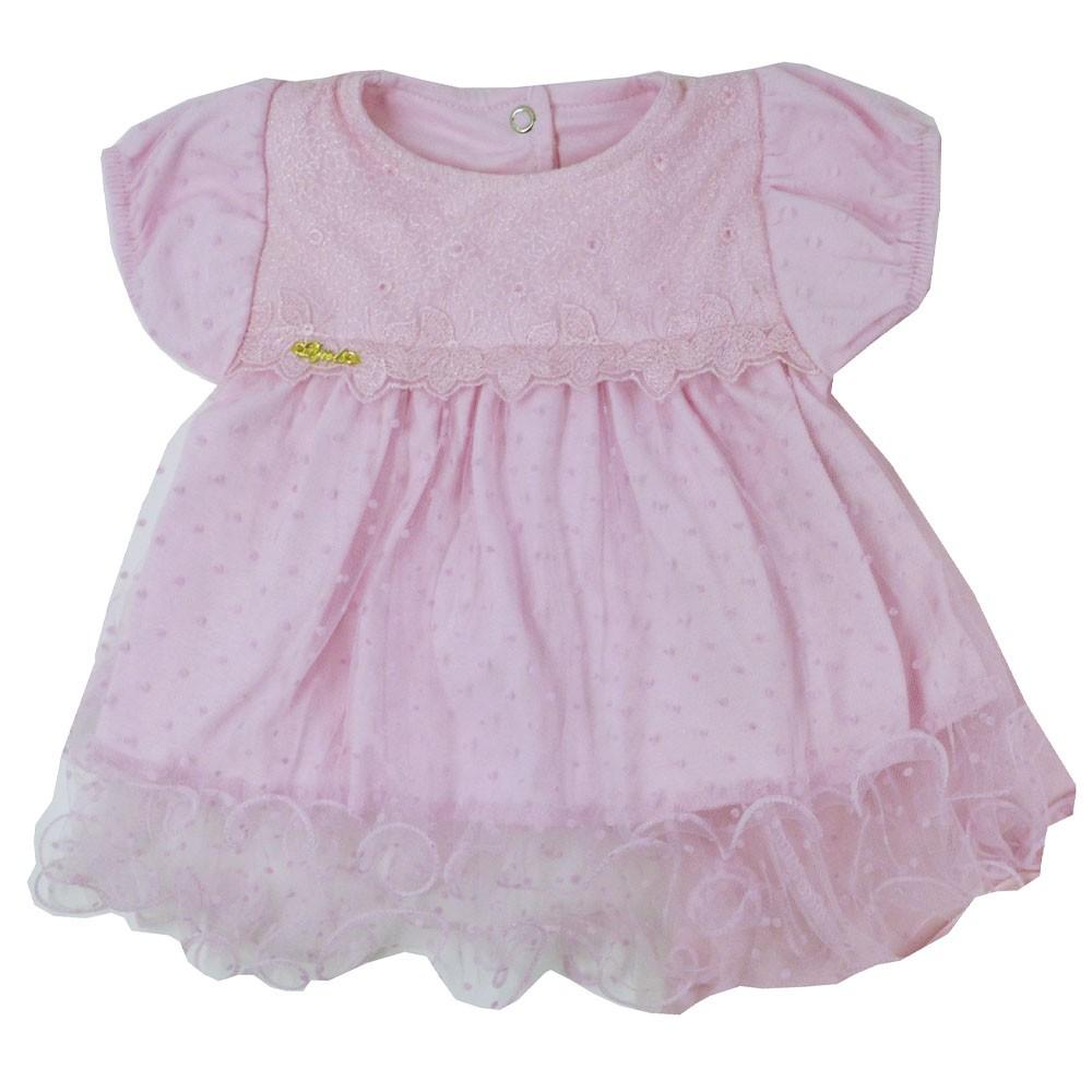 Saída Maternidade Rosa Djiele ref.2133