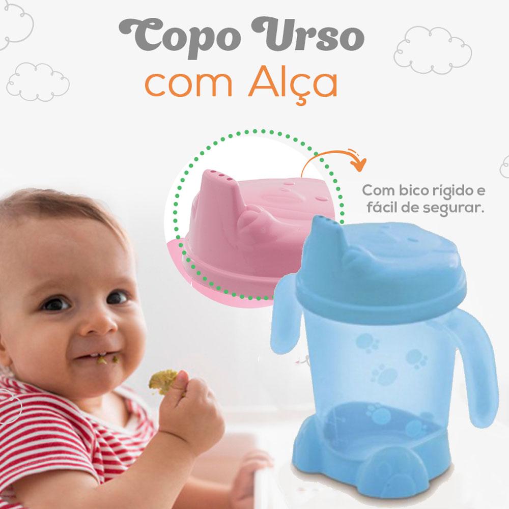Copo Bebê Porta Suco Adoleta 200ml