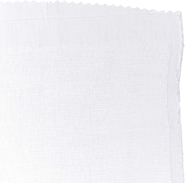Fralda de Pano Simples Branca Pinte e Borde Papi 70cm x 70cm