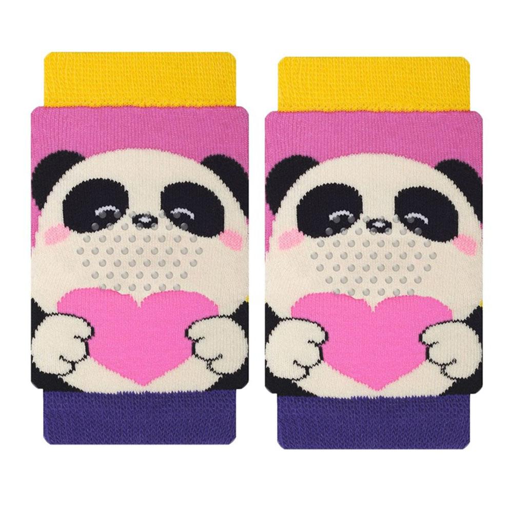 Joelheira de Bebê com Antiderrapante Panda 5 a 12 meses
