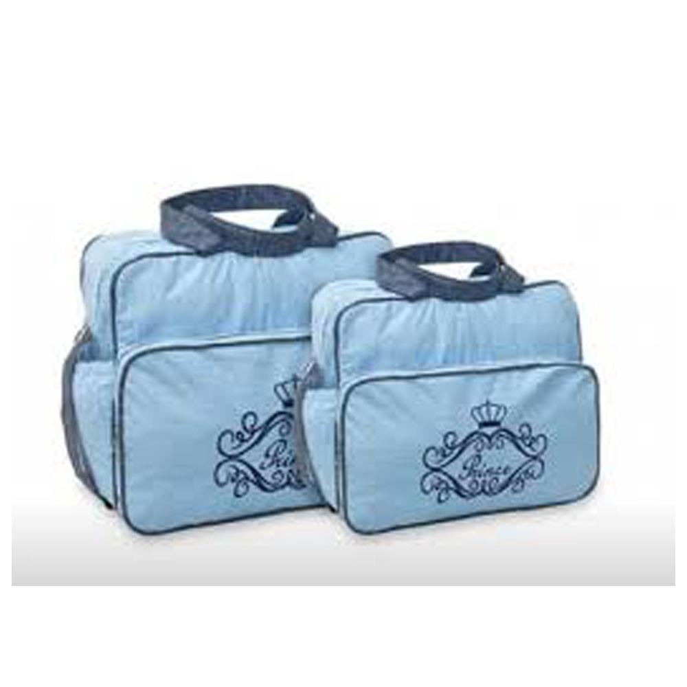 Kit Bolsa Maternidade Prince 2 Pçs Azul MB. 21314