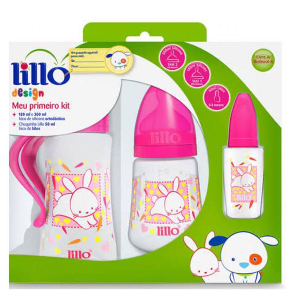 Kit Mamadeira Lillo Design (3 un)