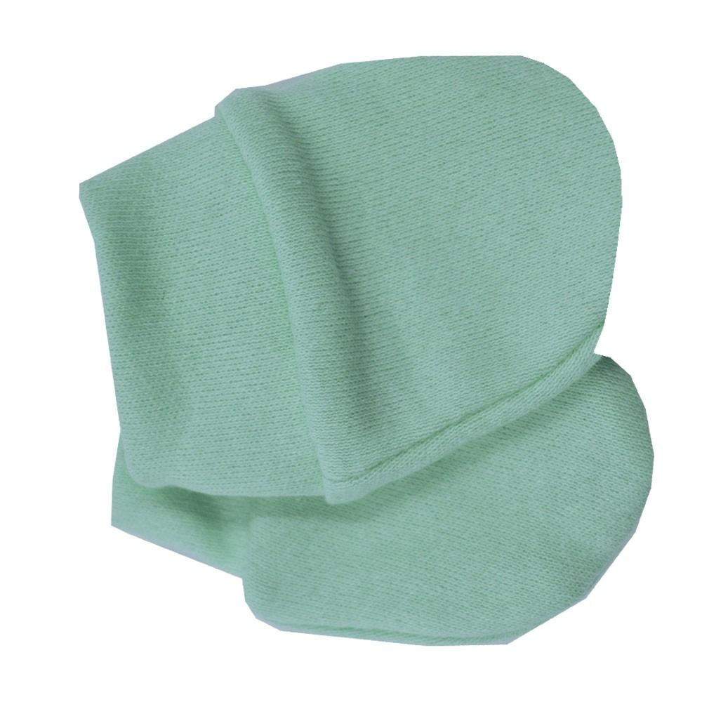 Luva de Bebê Malha Verde Claro