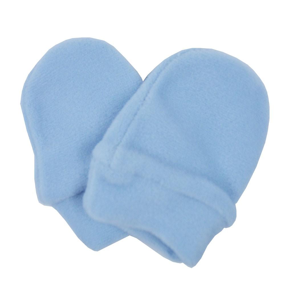 Luva de Bebê Soft Azul Claro
