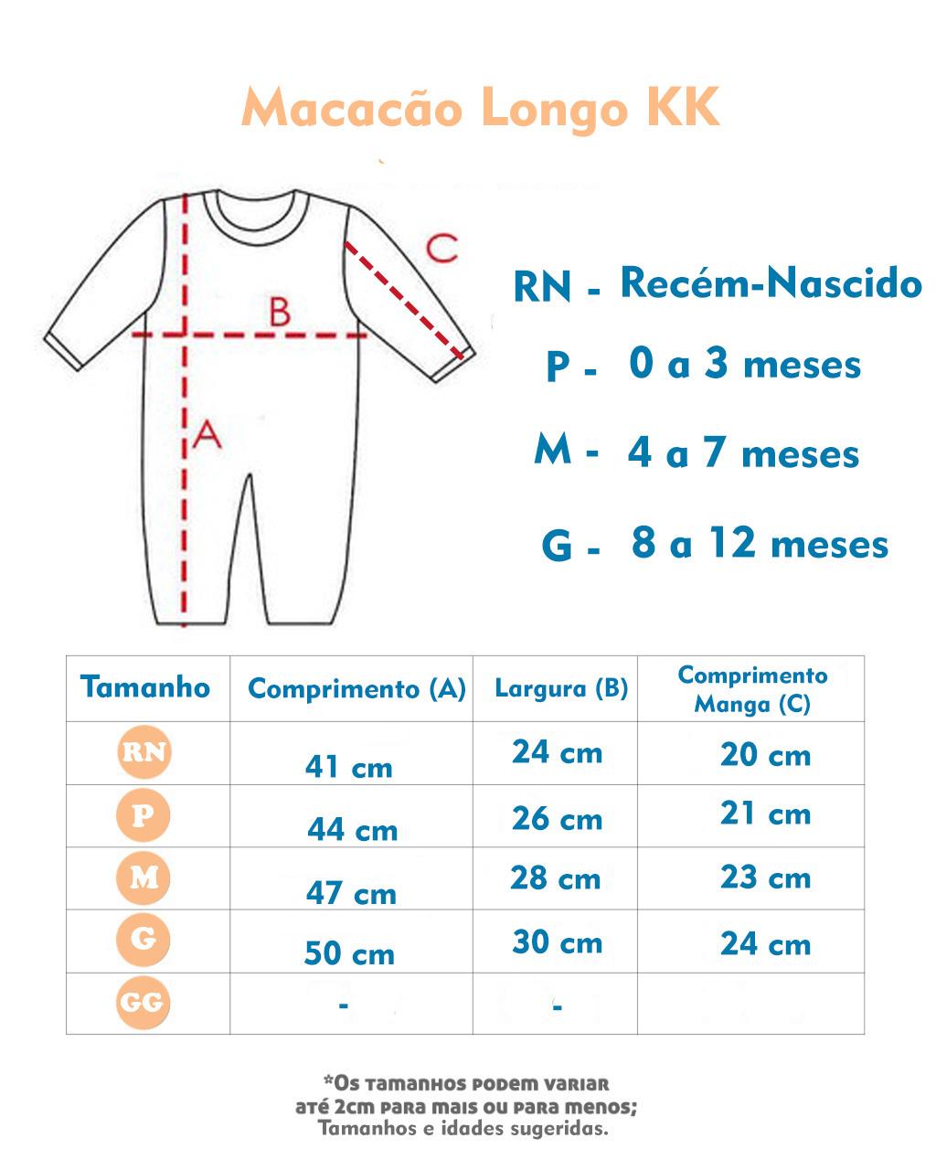 Macacão Passeio Longo Suedine Jeans Marrom (RN/P/M/G)