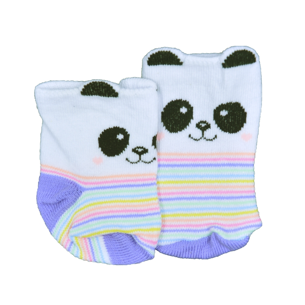 Meia de Bebê Panda 0 a 5 meses