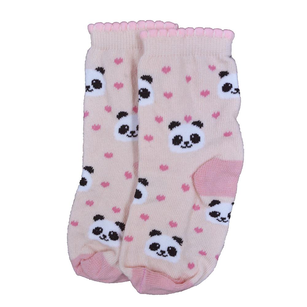 Meia de Bebê Panda Love 21 a 24