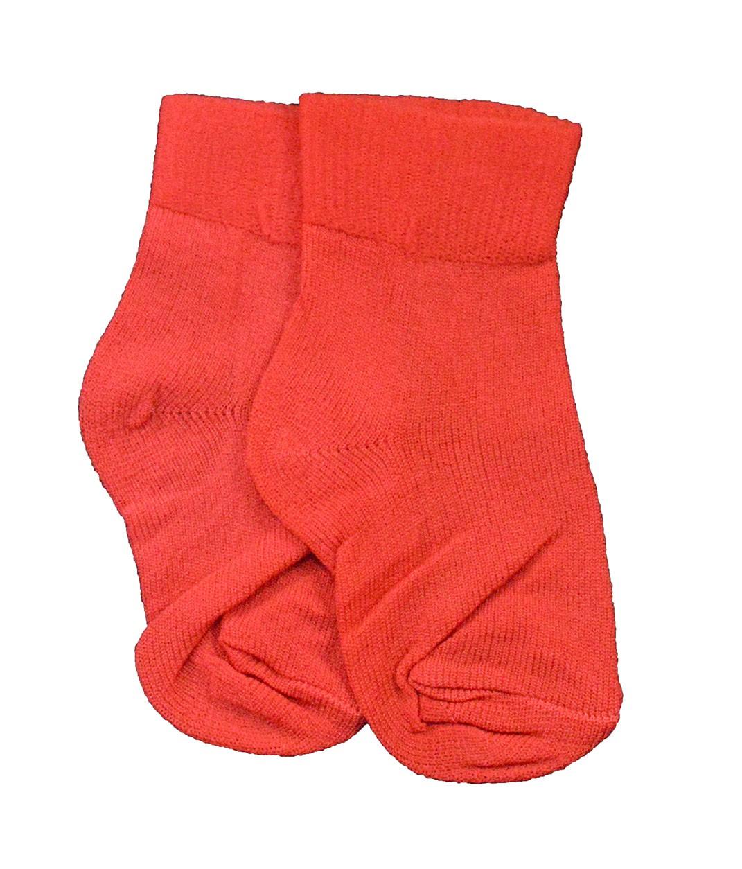 Meia Vermelha Lisa 0 a 3 meses Bambinos
