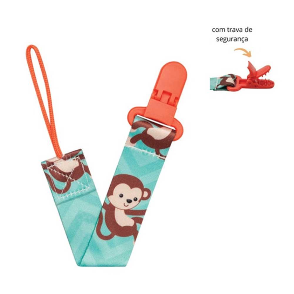 Prendedor de Chupeta Buba Macaco