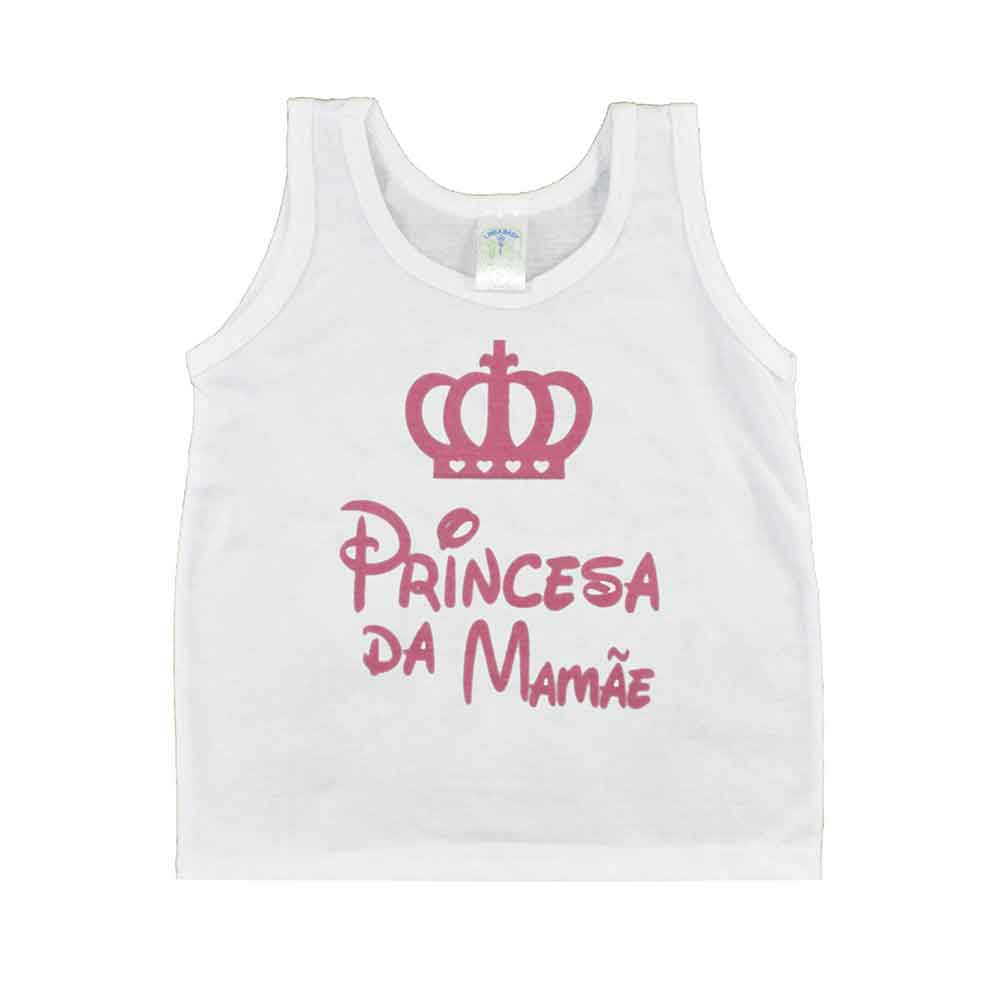 Regata de Bebê Princesa da Mamãe (P/M/G)
