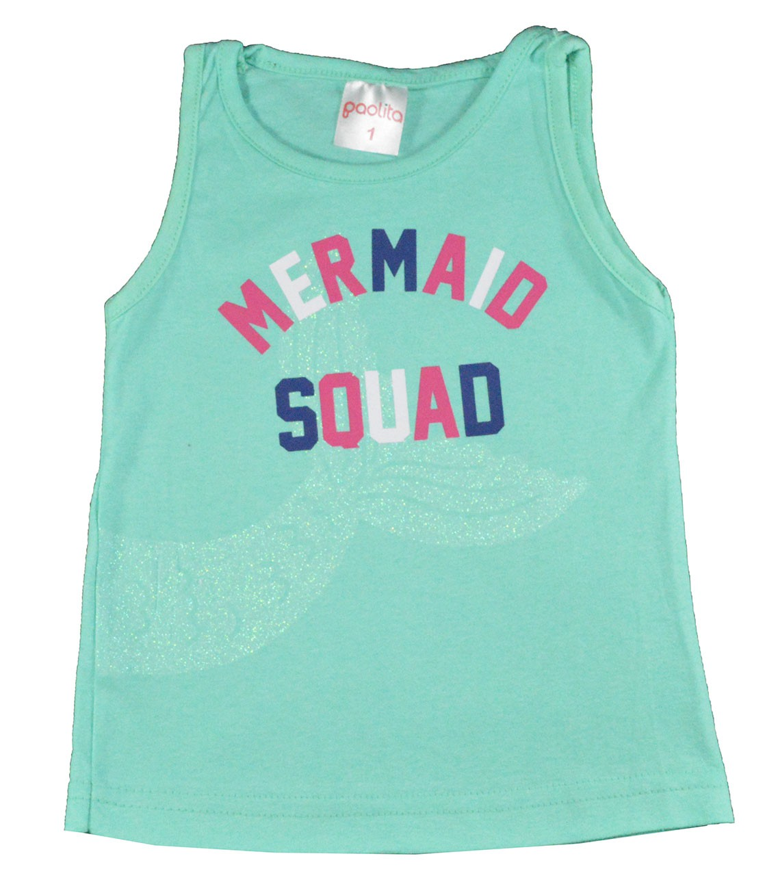 Regata Infantil Mermaid Verde