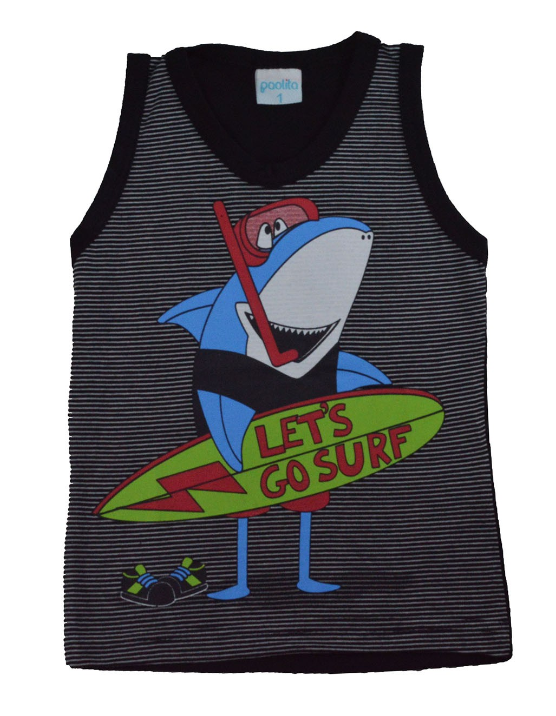Regata Infantil Tubarão Surf