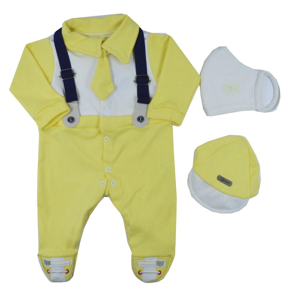 Saída Maternidade Amarelo Djiele ref.2150