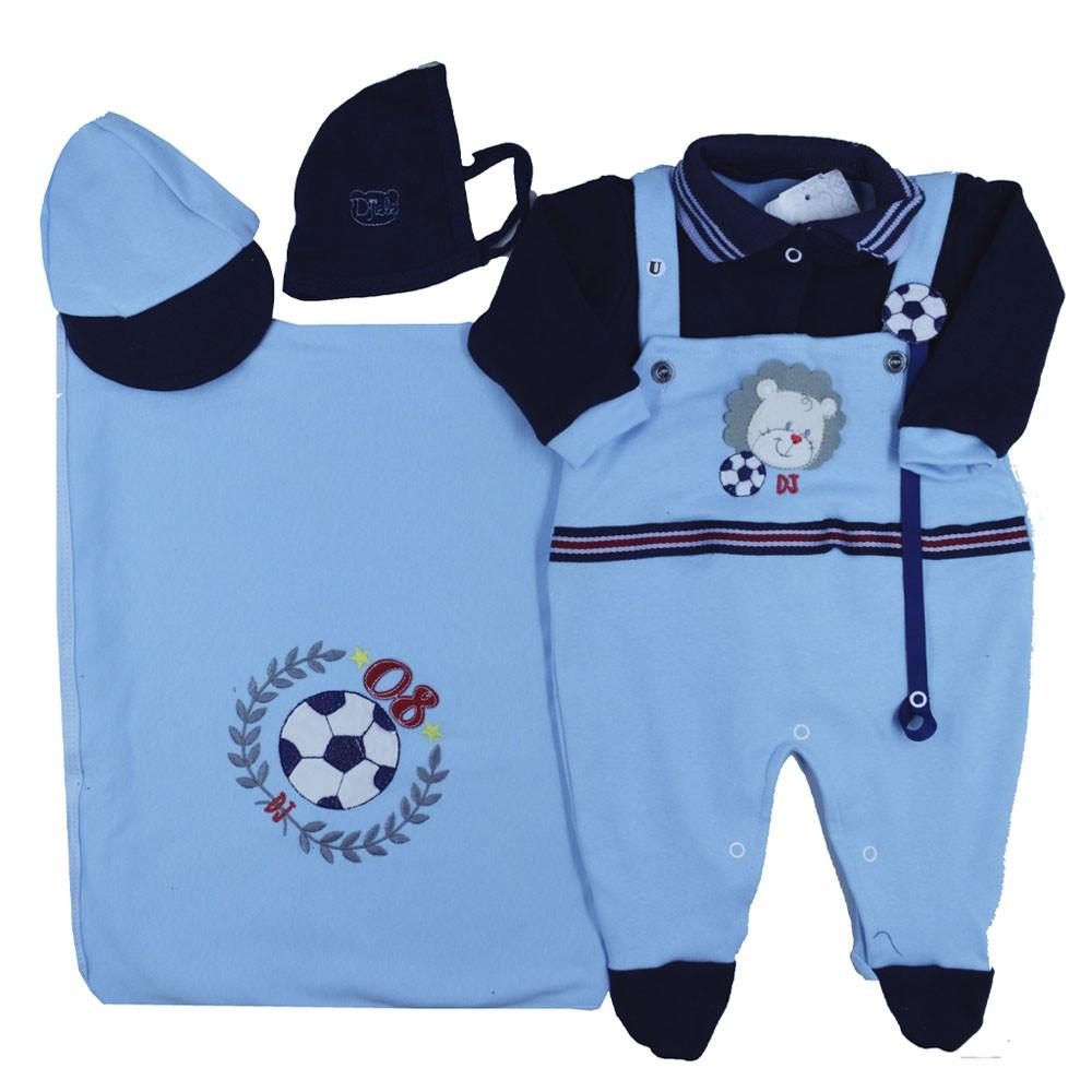 Saída Maternidade Azul Djiele ref.2153