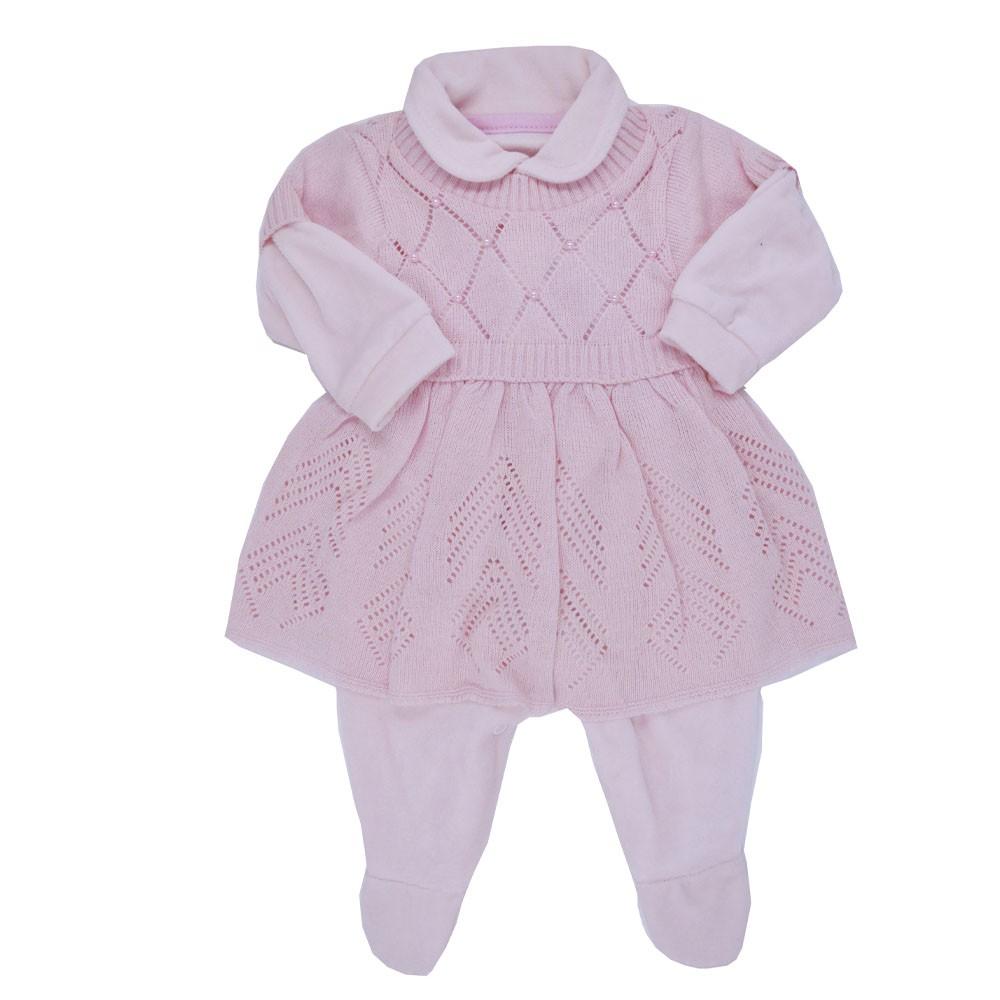 Saída Maternidade Rosa Djiele ref.2069
