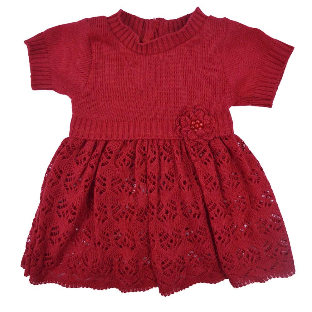Saída Maternidade Vermelho Djiele ref.2065