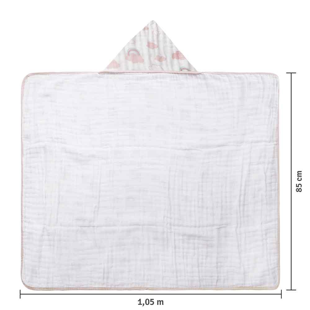Toalhão Papi Soft Premium Arco-íris (1,05m X 85cm)