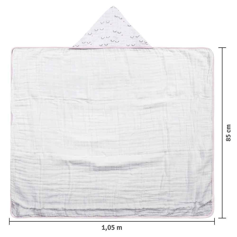 Toalha Papi Soft Premium Cílios (1,05m X 85cm)