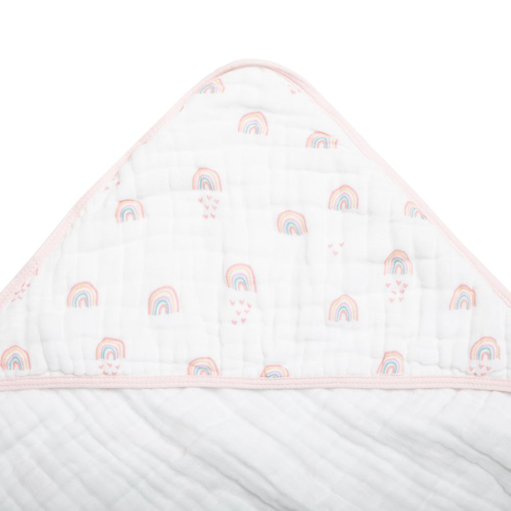 Toalha Soft Papi Tripla Absorção Arco-Íris  (80cm x 80cm)