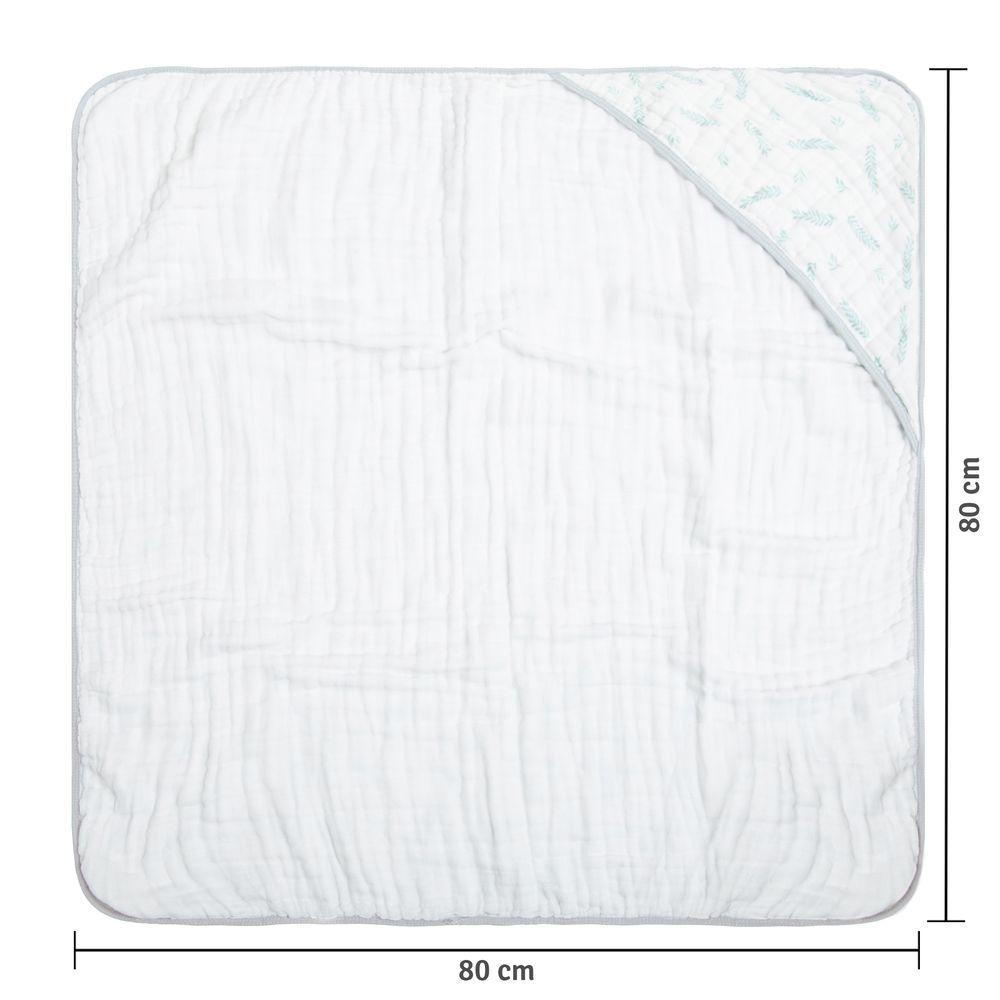 Toalha Soft Papi Tripla Absorção Ramos (80cm x 80cm)