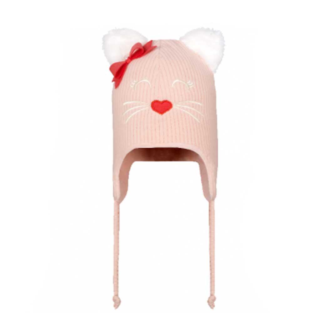 Touca para Bebê Gatinha Rosê Everly (P/M/G)