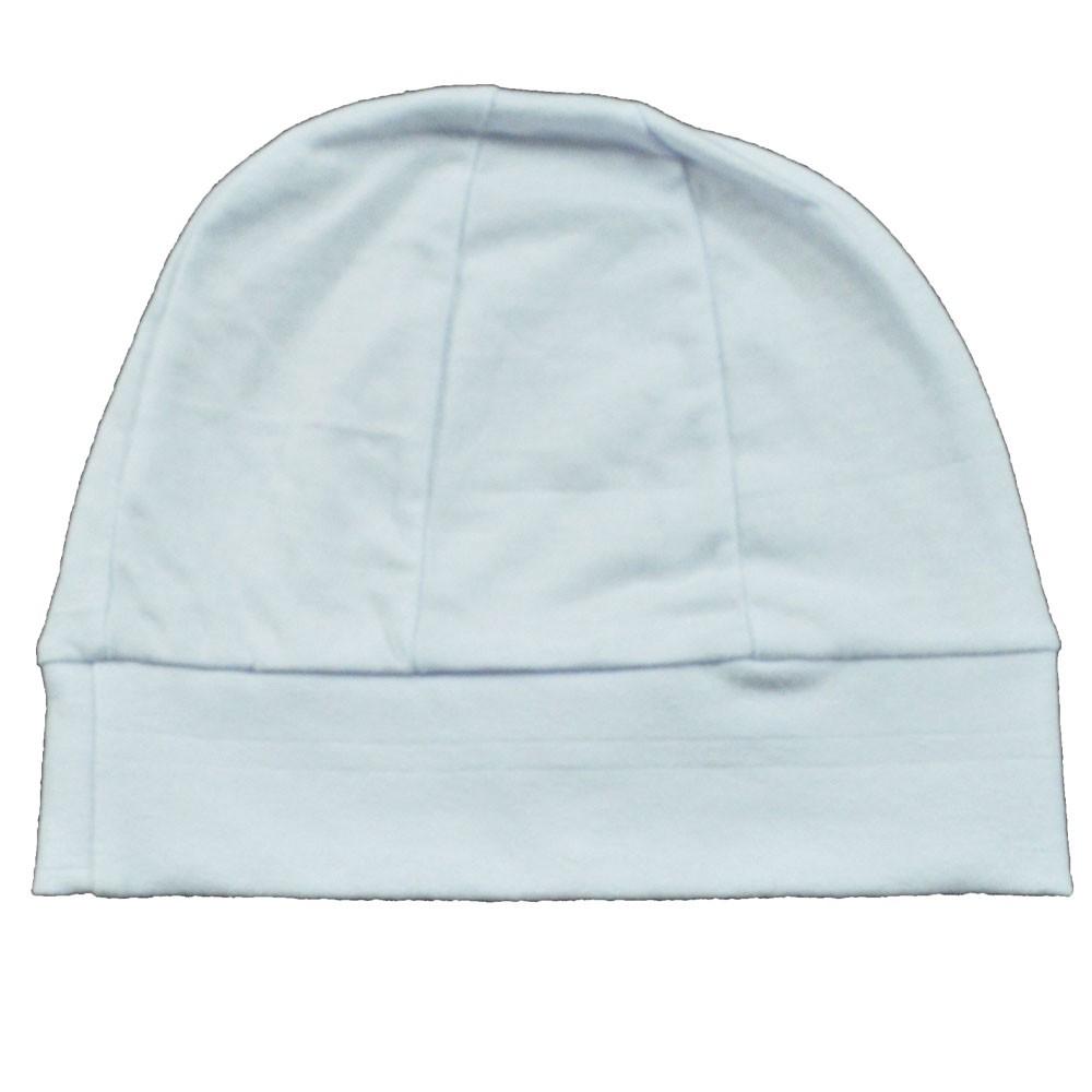 Touca Para Bebê Malha Branca