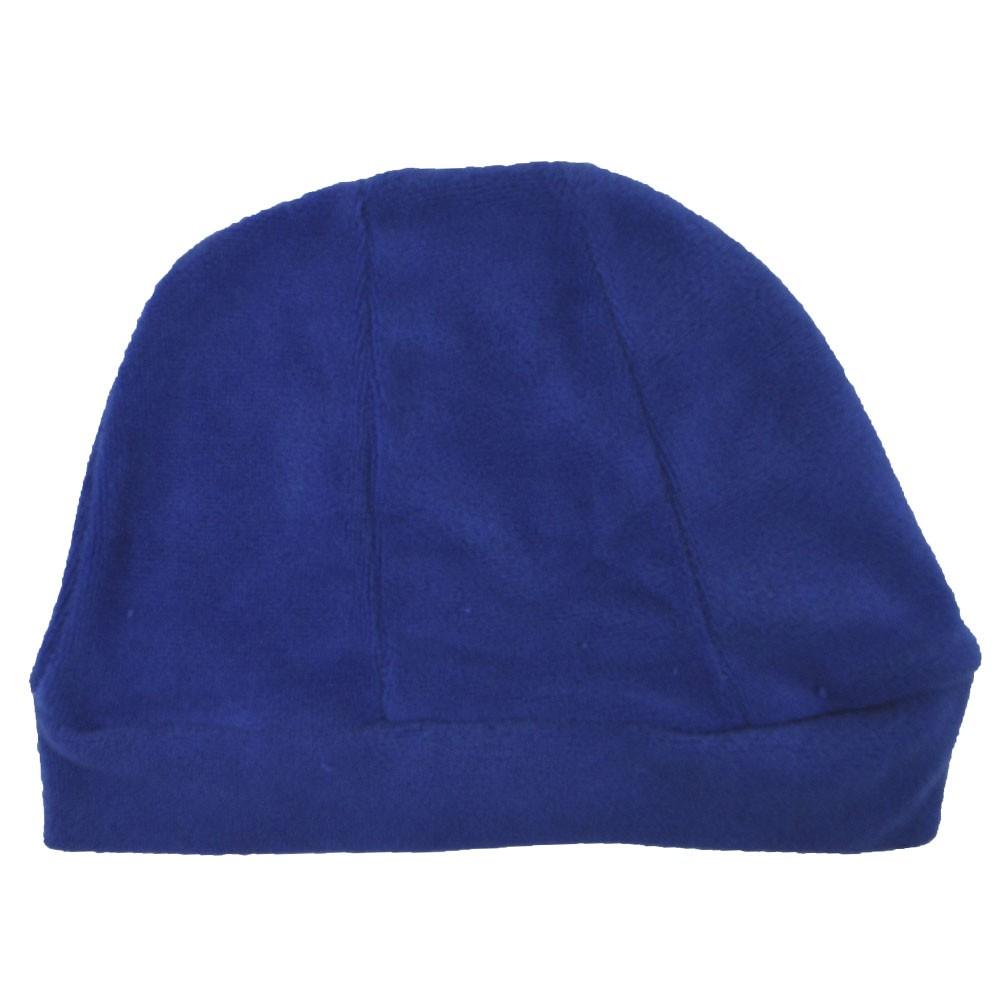 Touca Para Bebê Plush Azul Bic