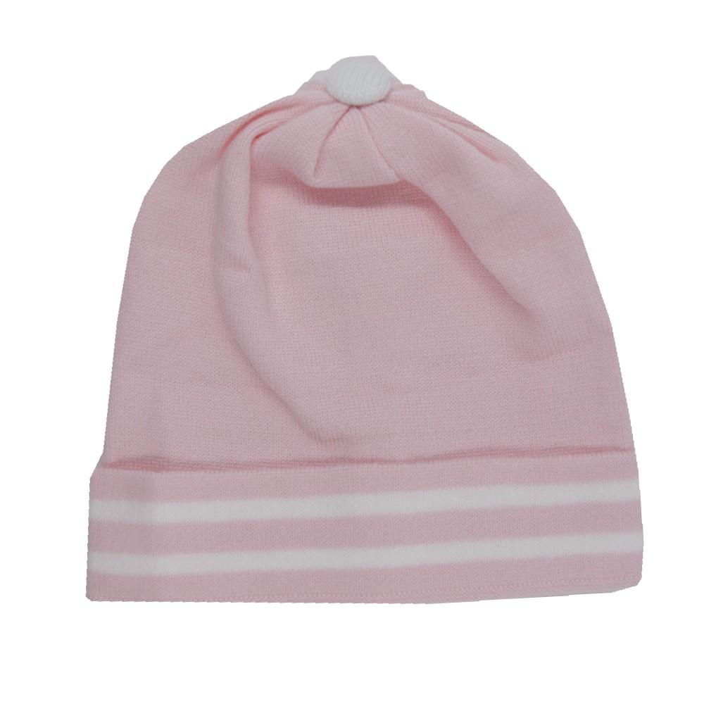 Touca para Bebê Tricart Rosa