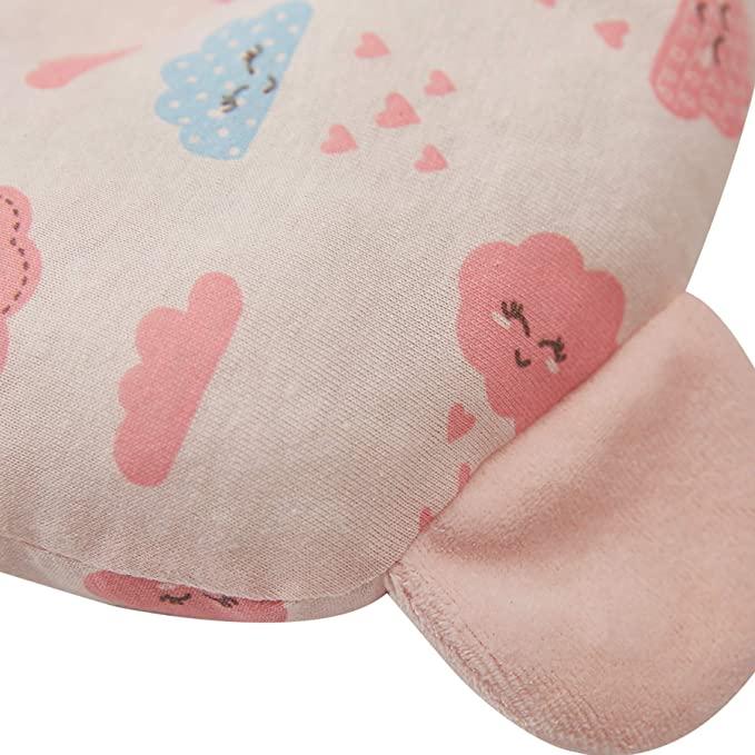 Travesseiro Anatômico com Orelhinha Papi Rosa (23cm x 18cm)