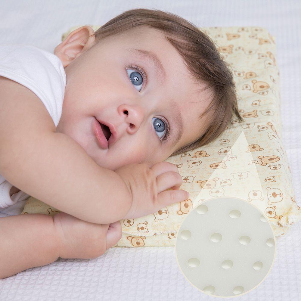 Travesseiro de Bebê Grande Antissufocante Papi Estampas Masculinas Sortidas (29cmX19cmX3cm)