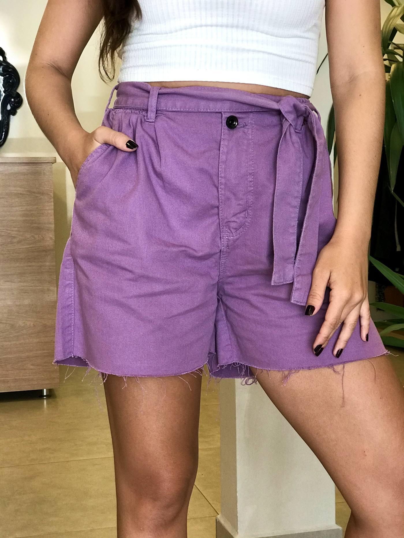 Shorts com Amarração