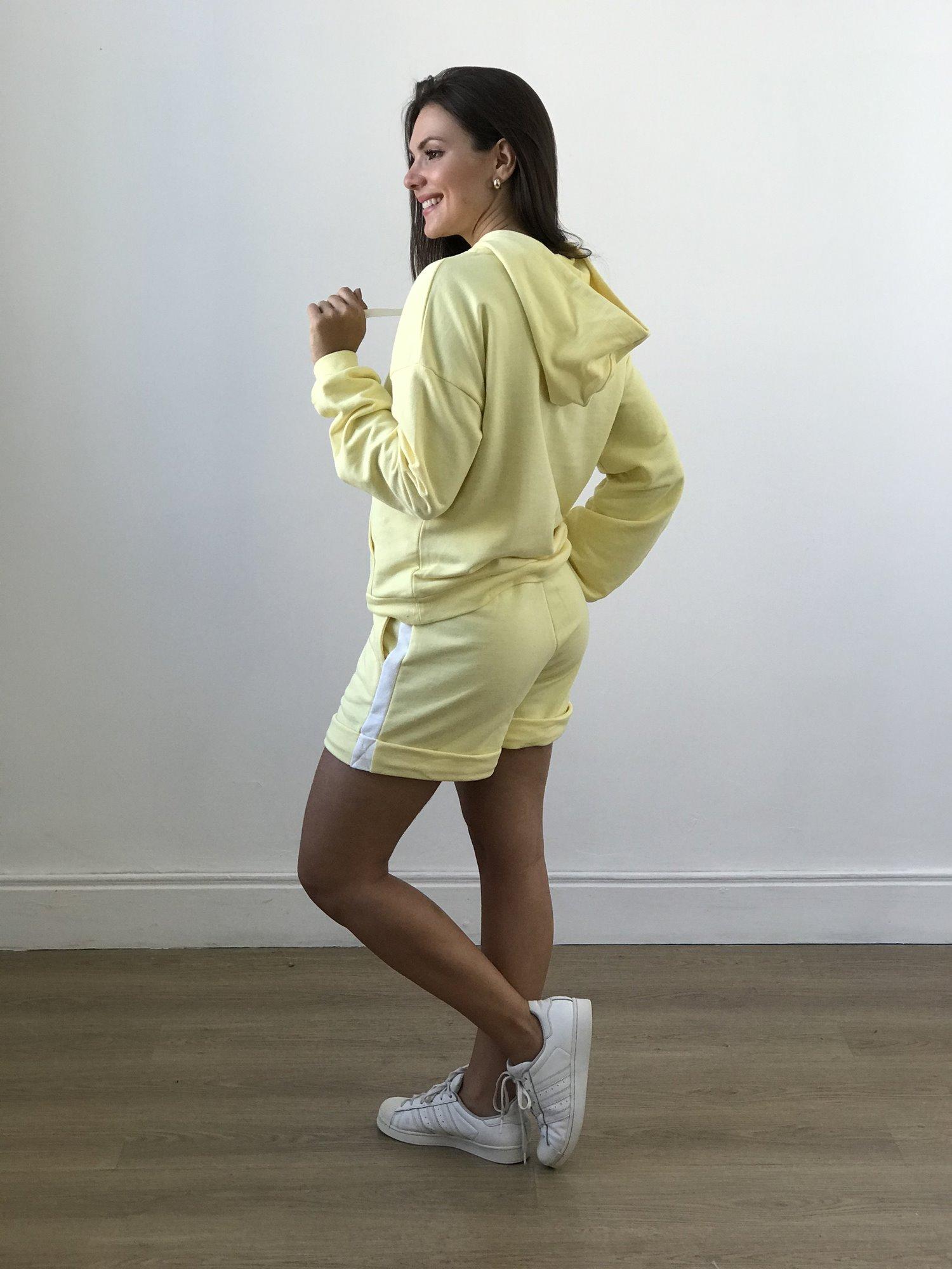Shorts de Moleton Listra Lateral