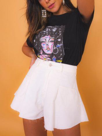 Shorts Godê Branco