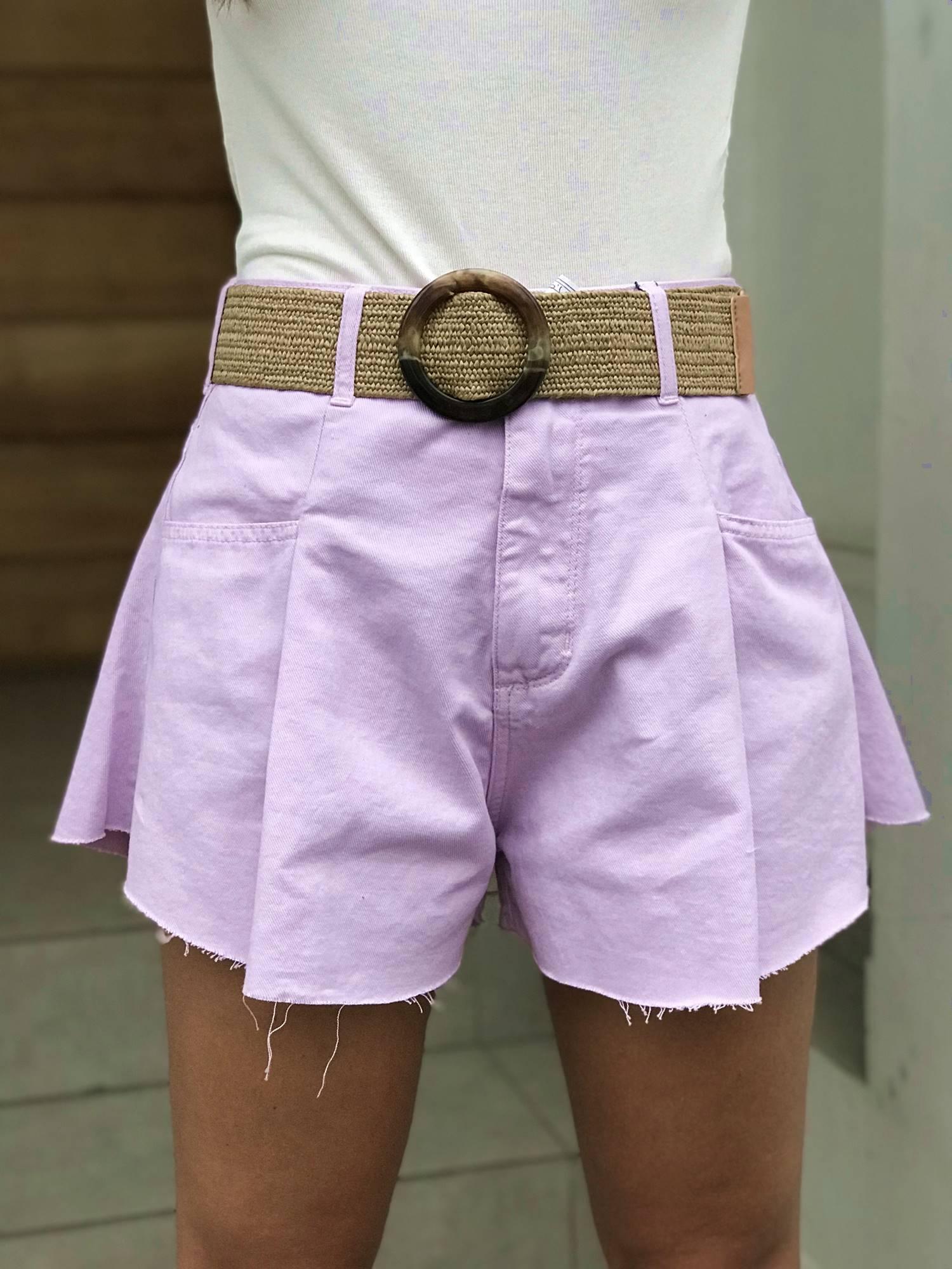 Shorts Godê Lilás