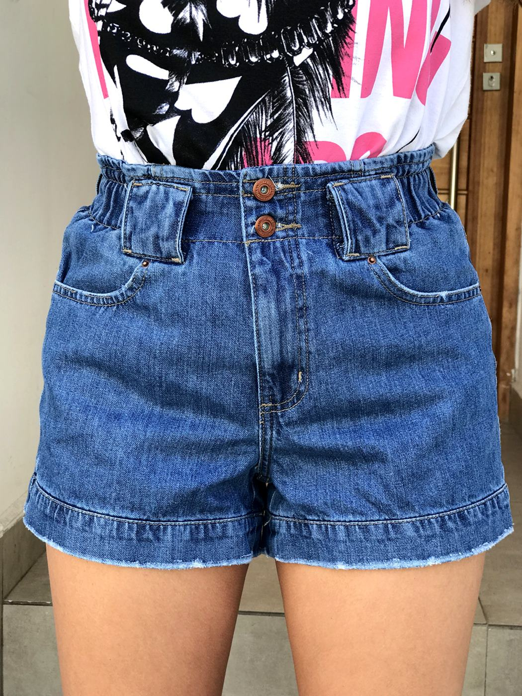Shorts Jeans Elastex