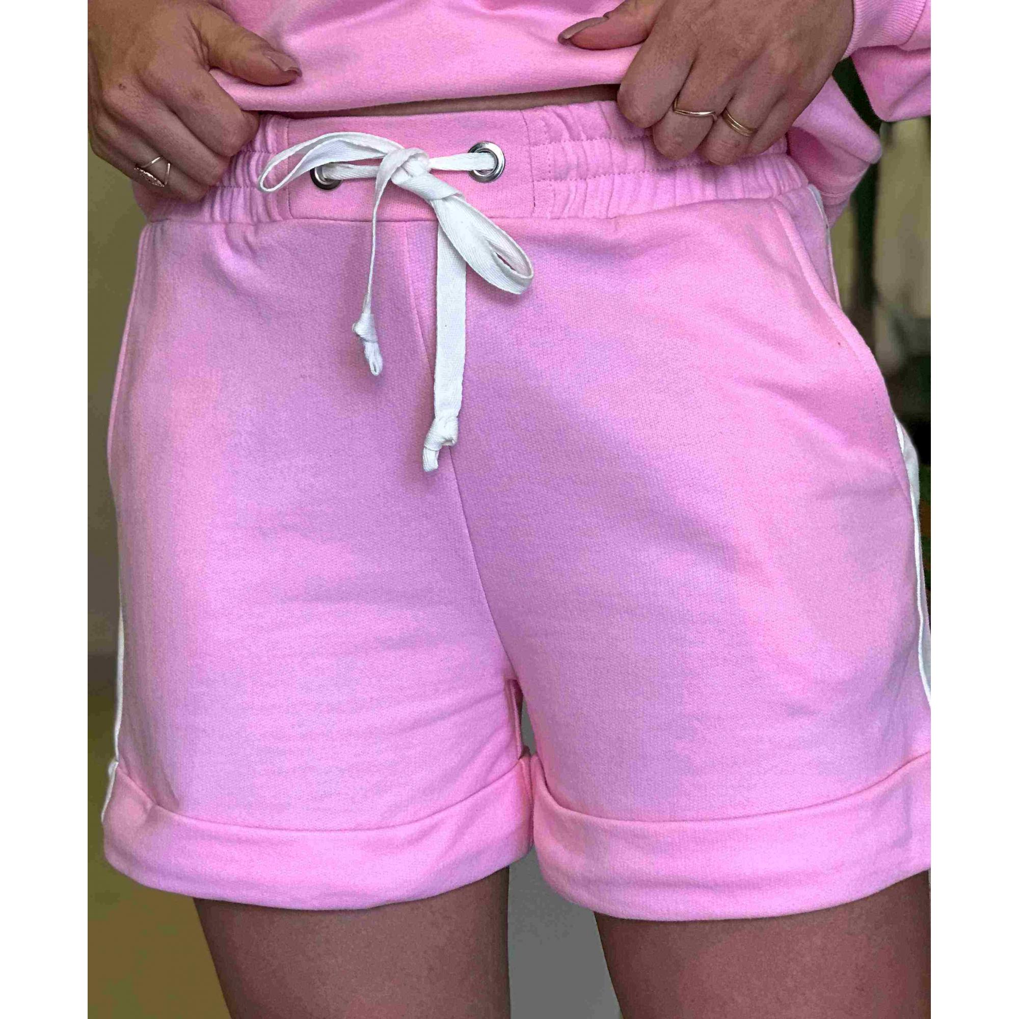 Shorts Moletom Listra Lateral
