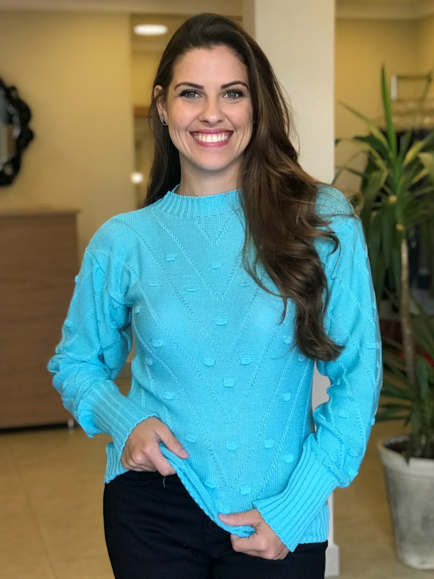 Suéter Tricot Texturizado