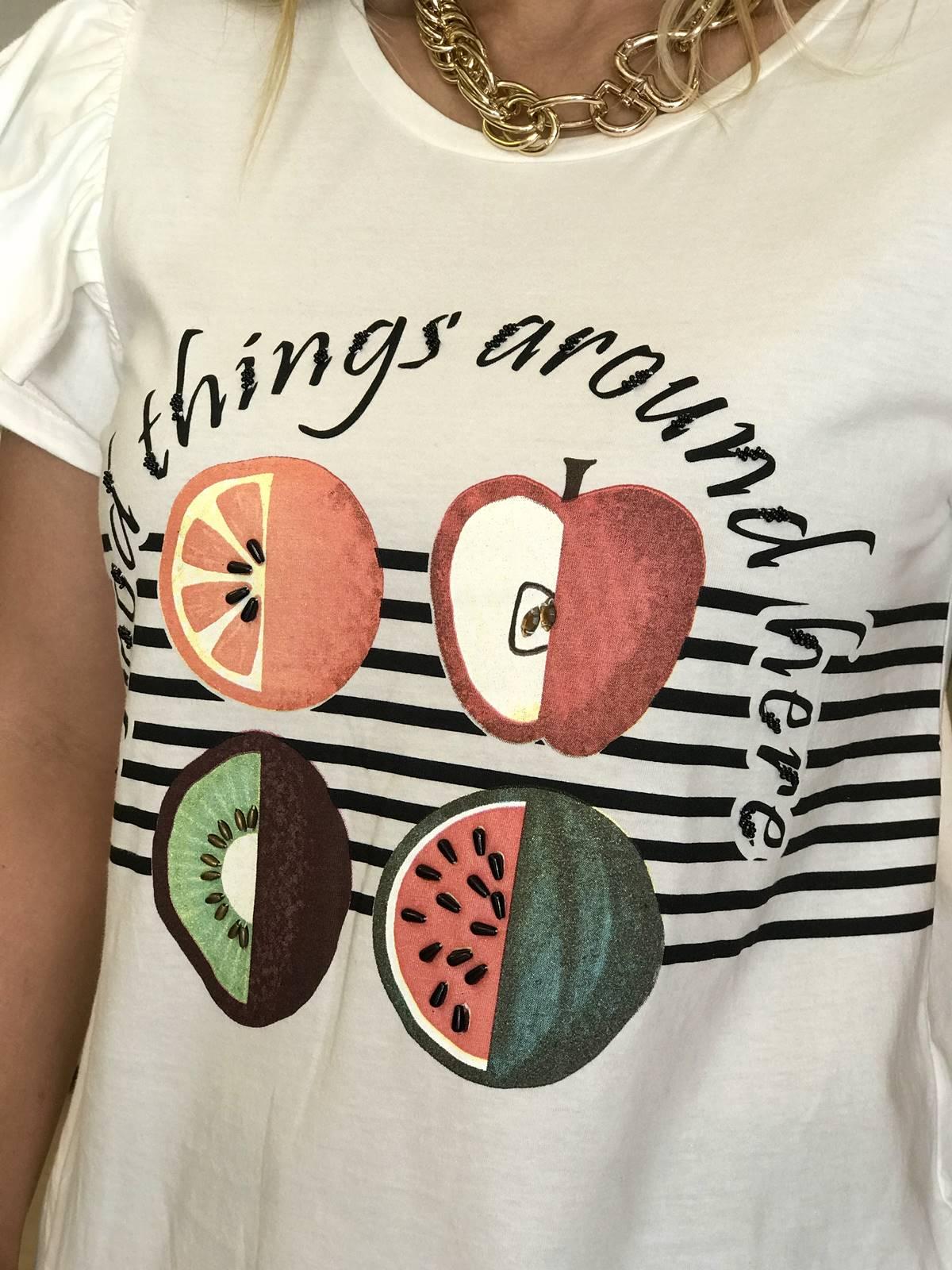 T-shirt Frutas