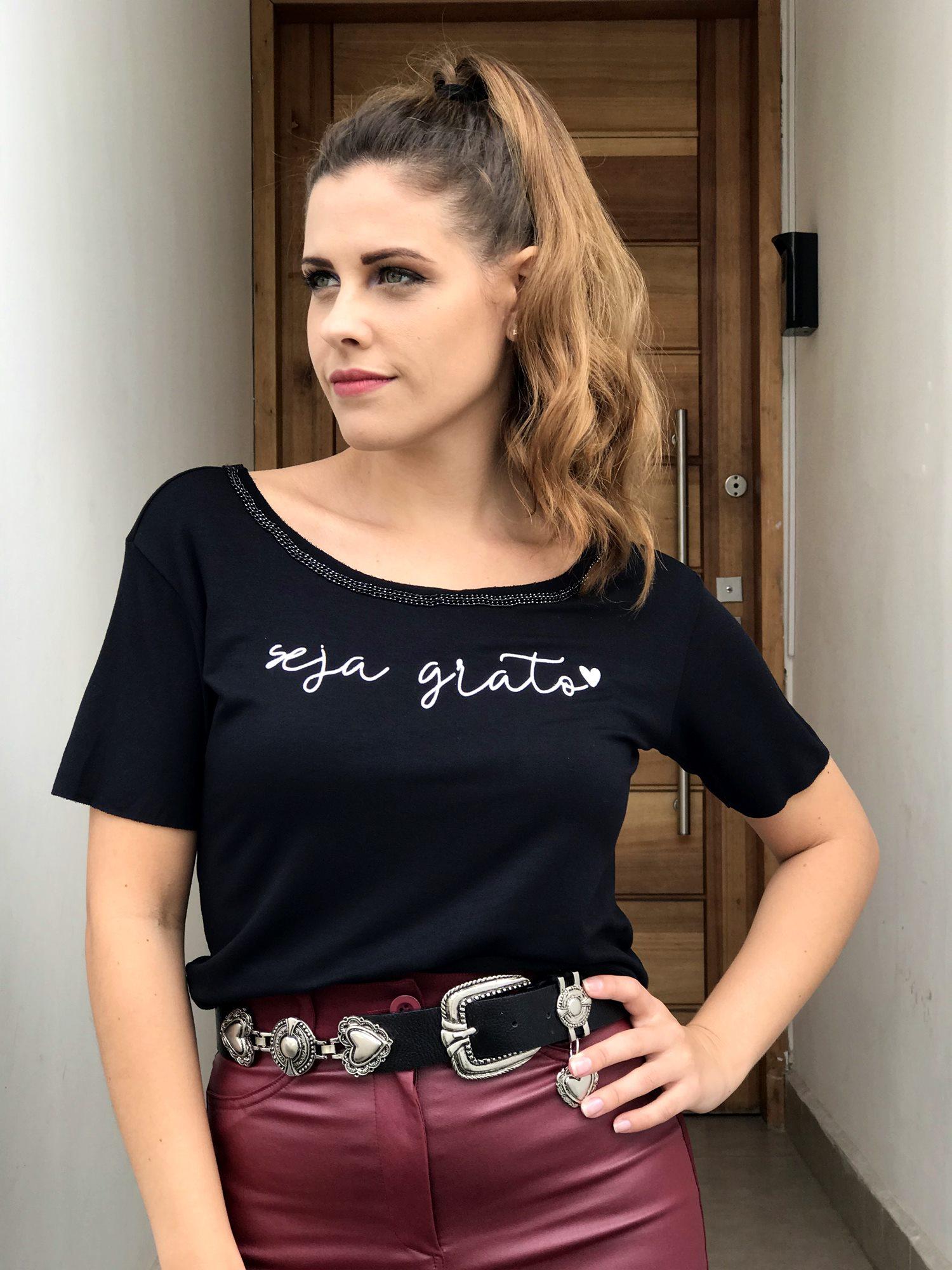 T-shirt Seja Grato