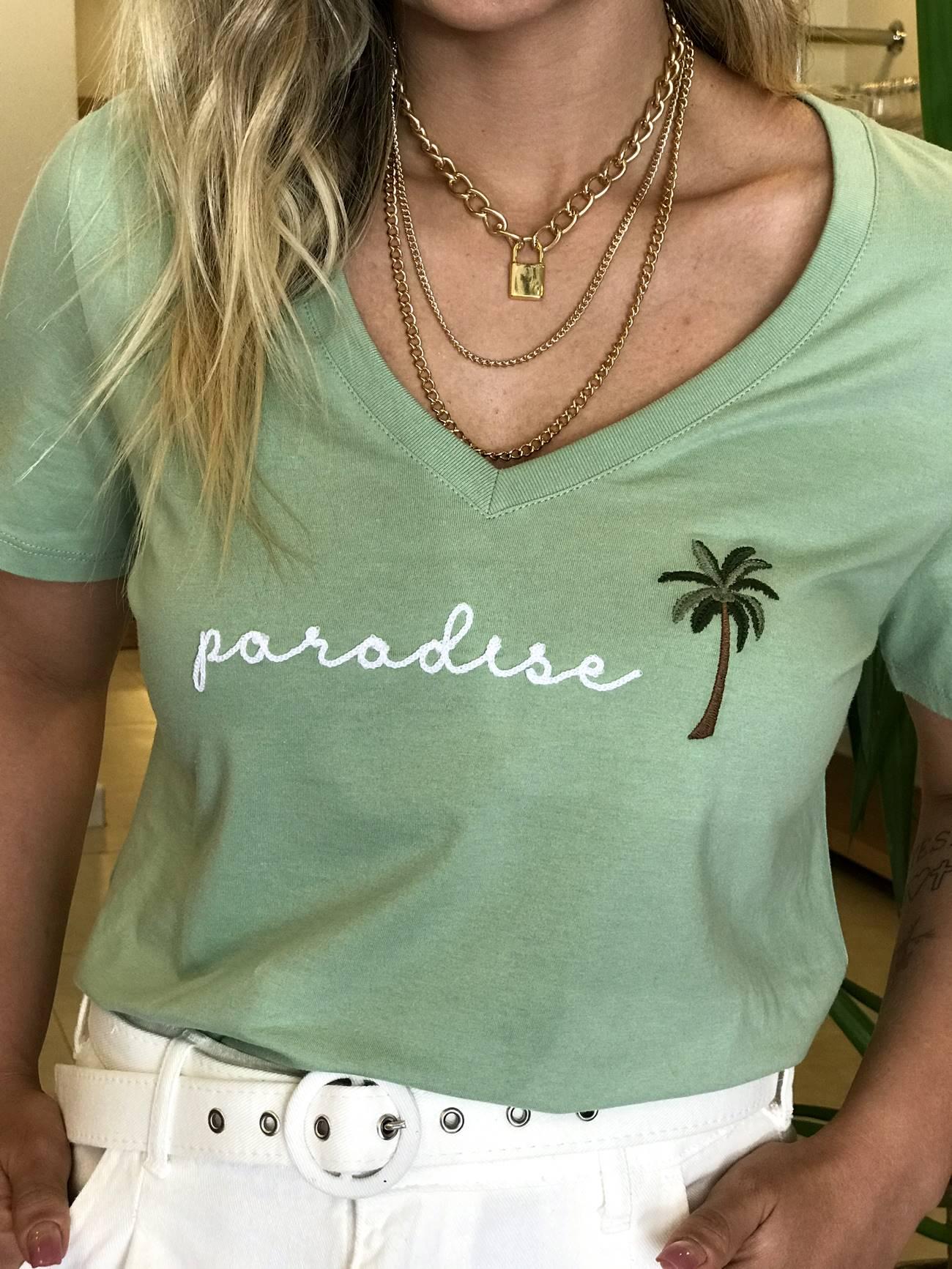 T-shirt Tee Paraíso