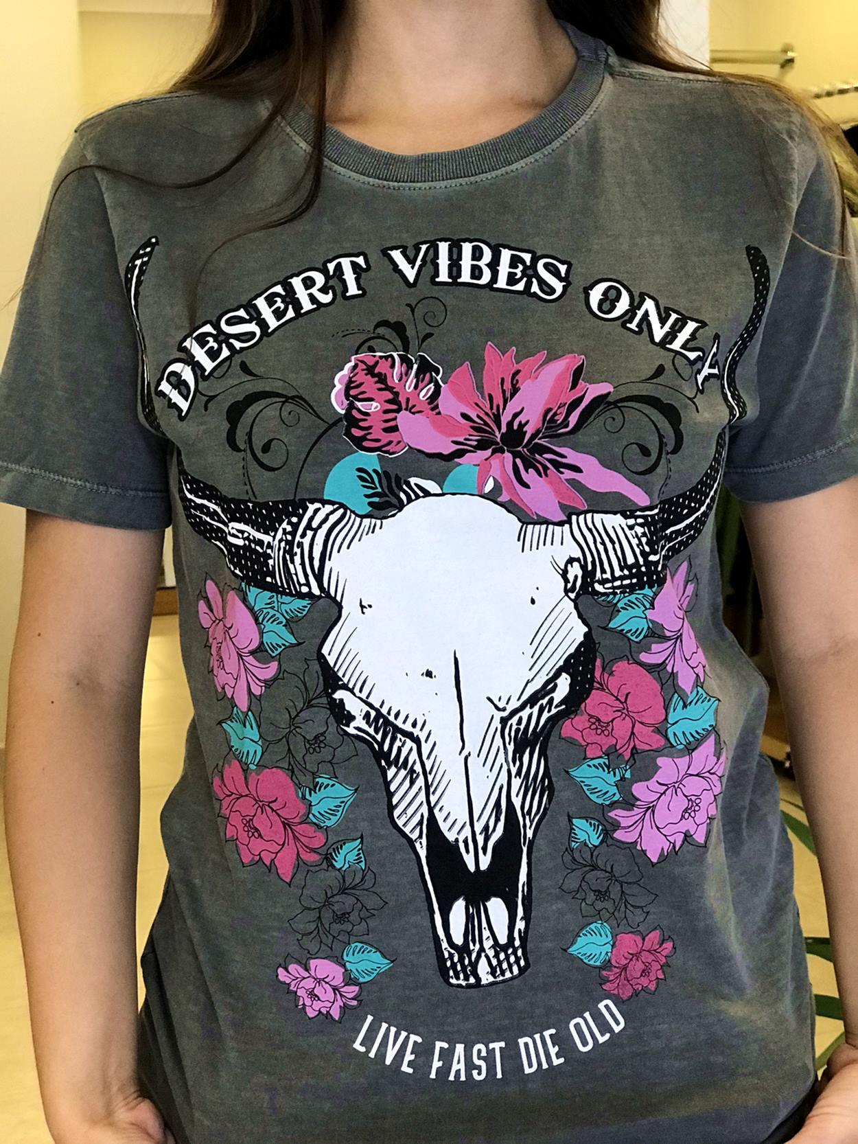 T-shirts Desert