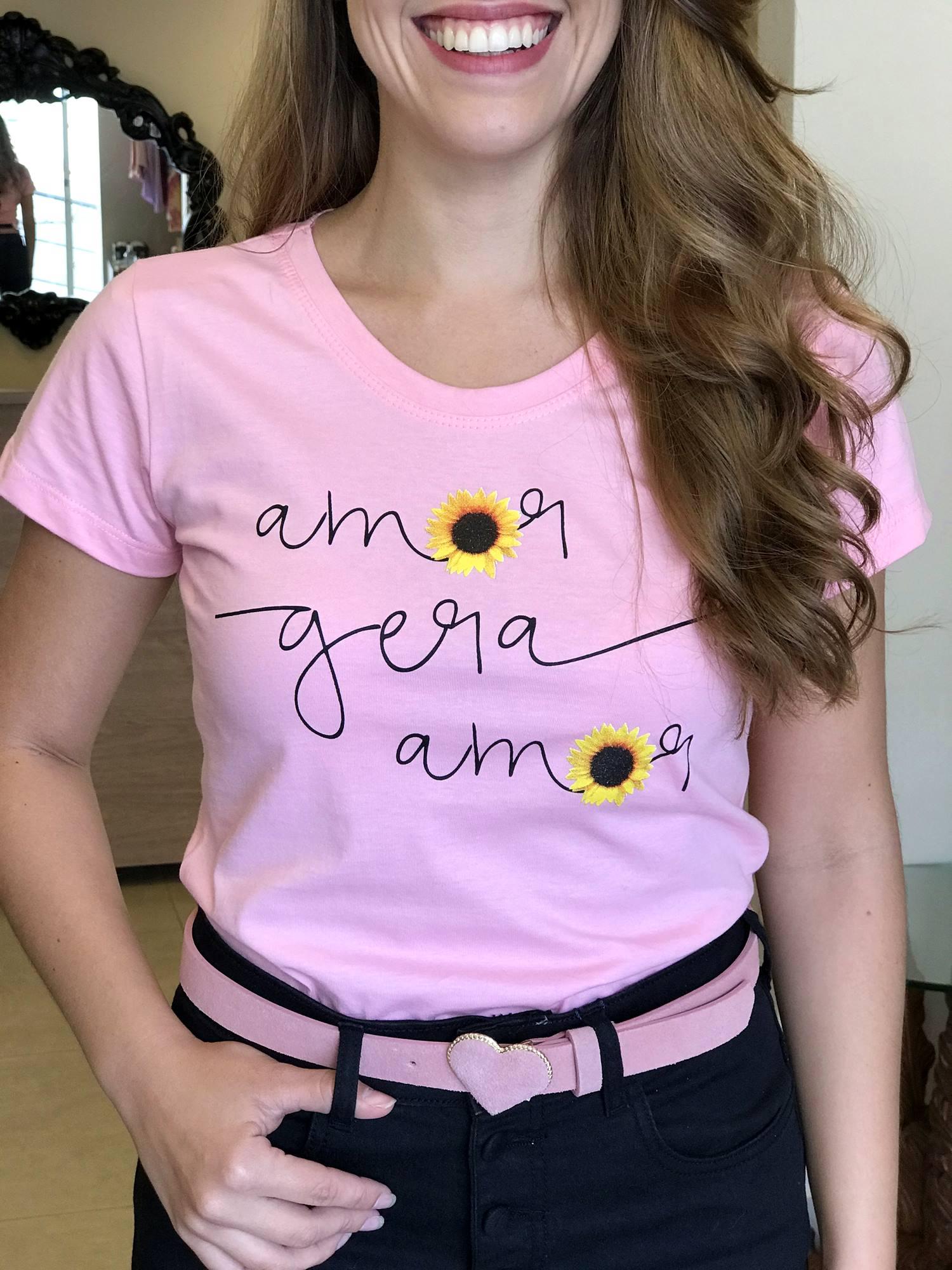 Tshirt Amor Gera Amor