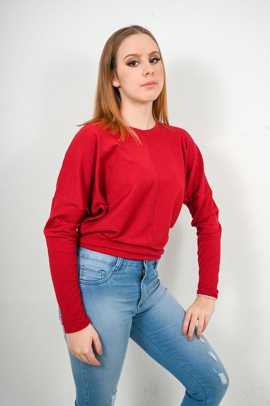 Blusa Canelada Dooplex