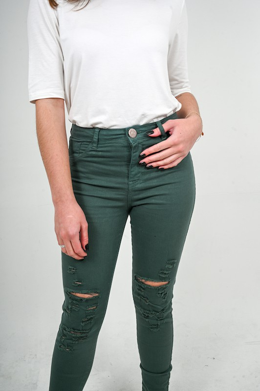 Jeans Verde - Ch010
